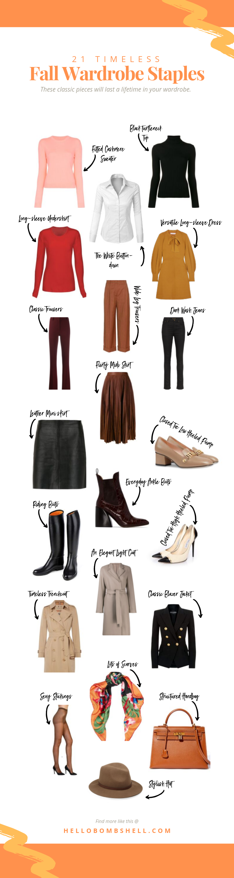 20 Timeless Classic Style Fall Wardrobe Staples for Women That'll ...
