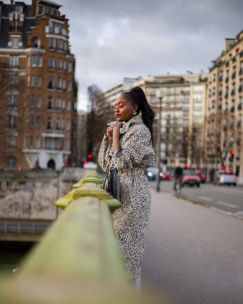 black african french style blogger