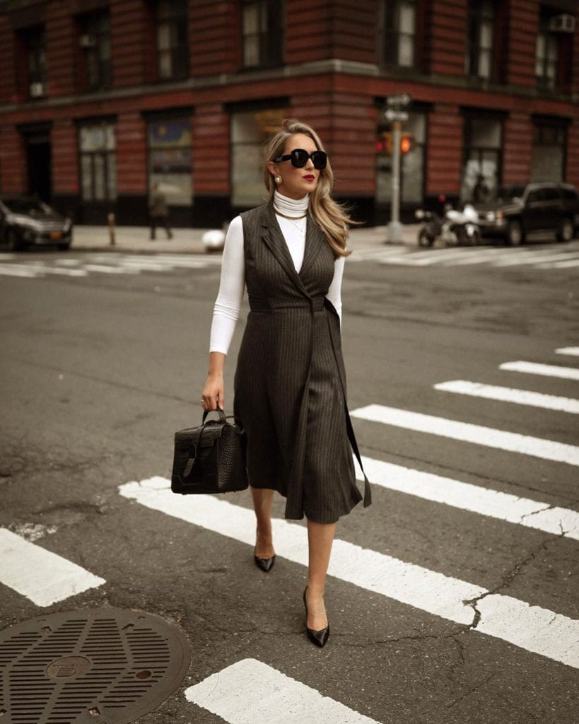 15 Very Chic Business Casual Fall Outfits For Work Hello Bombshell