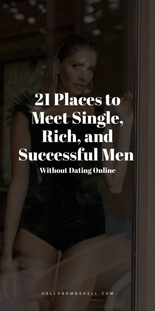 Where to meet rich men