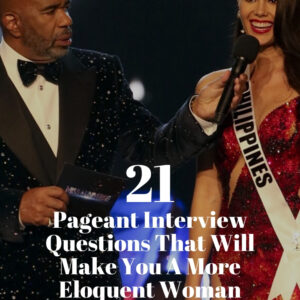 beauty pageant interview questions