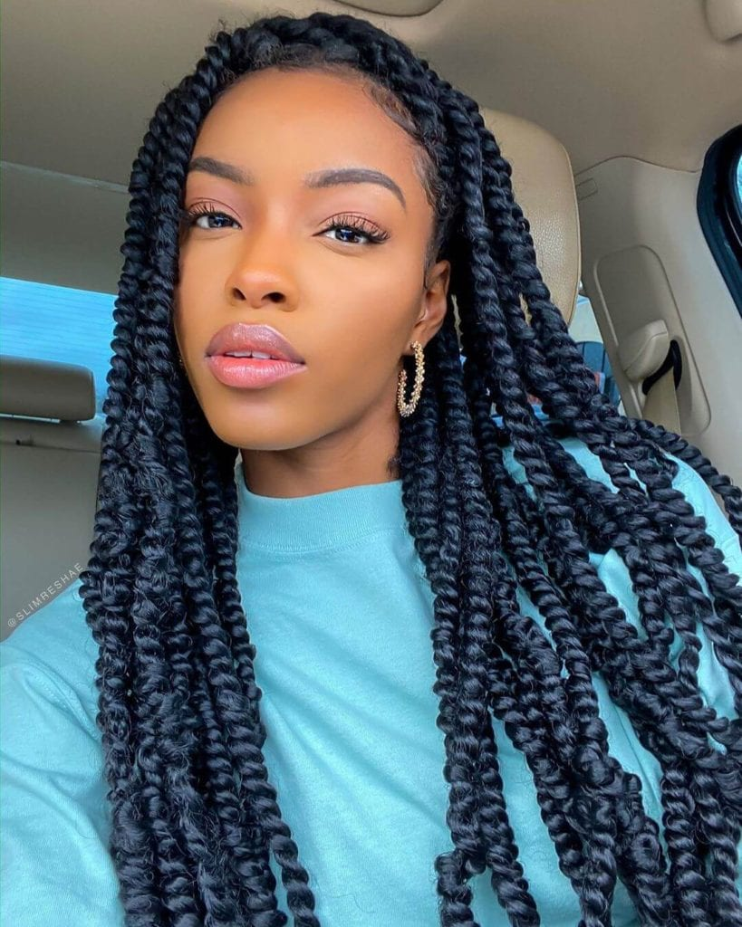 27 Beautiful Passion Twists & Spring Twists Hairstyles To ...