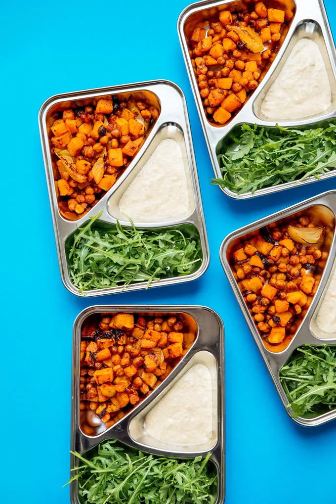 vegetarian meal prep idea