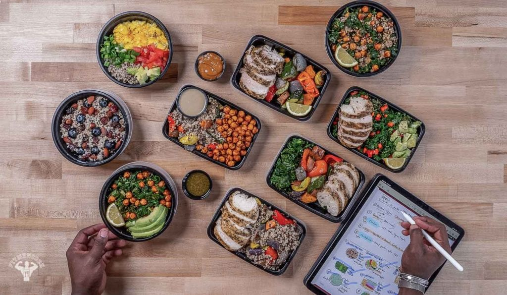 meal prep idea for men who workout