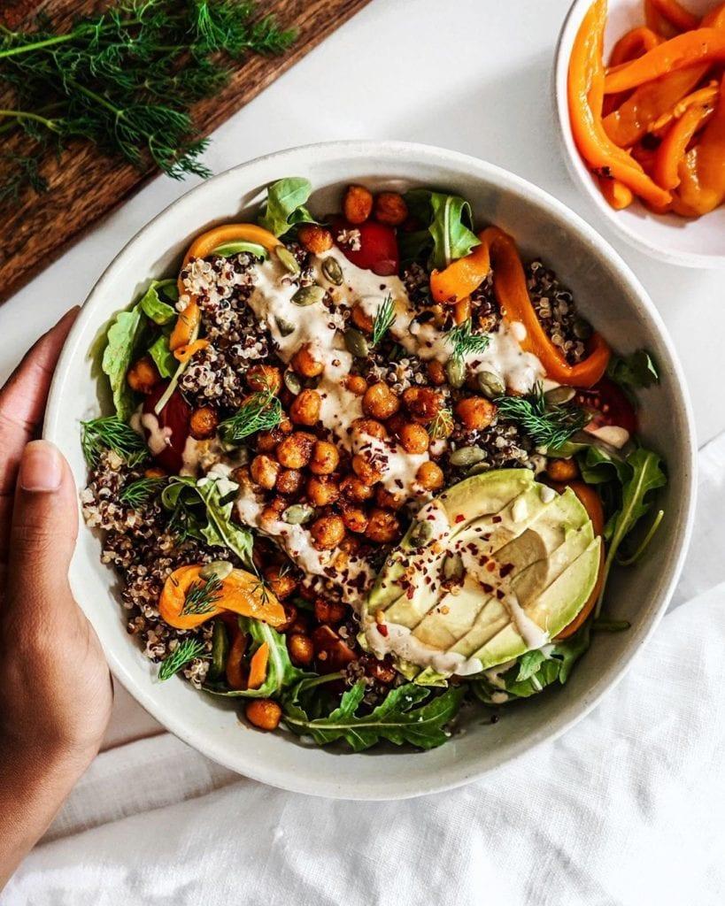 super food meal prep bowl