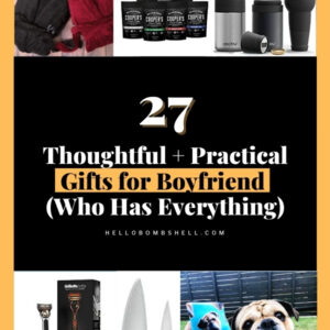 thoughtful practical gifts for boyfriend