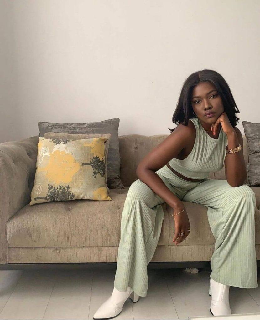 stylish black woman
