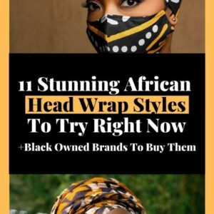 black owned african head wraps