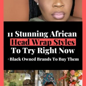 black owned african head scarfs