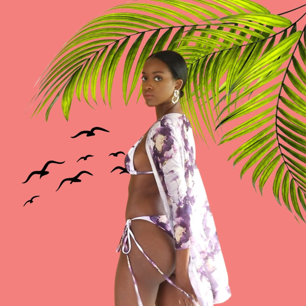 shein swimsuit with matching cover up