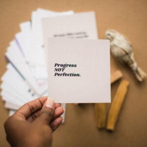 affirmation card for vision board