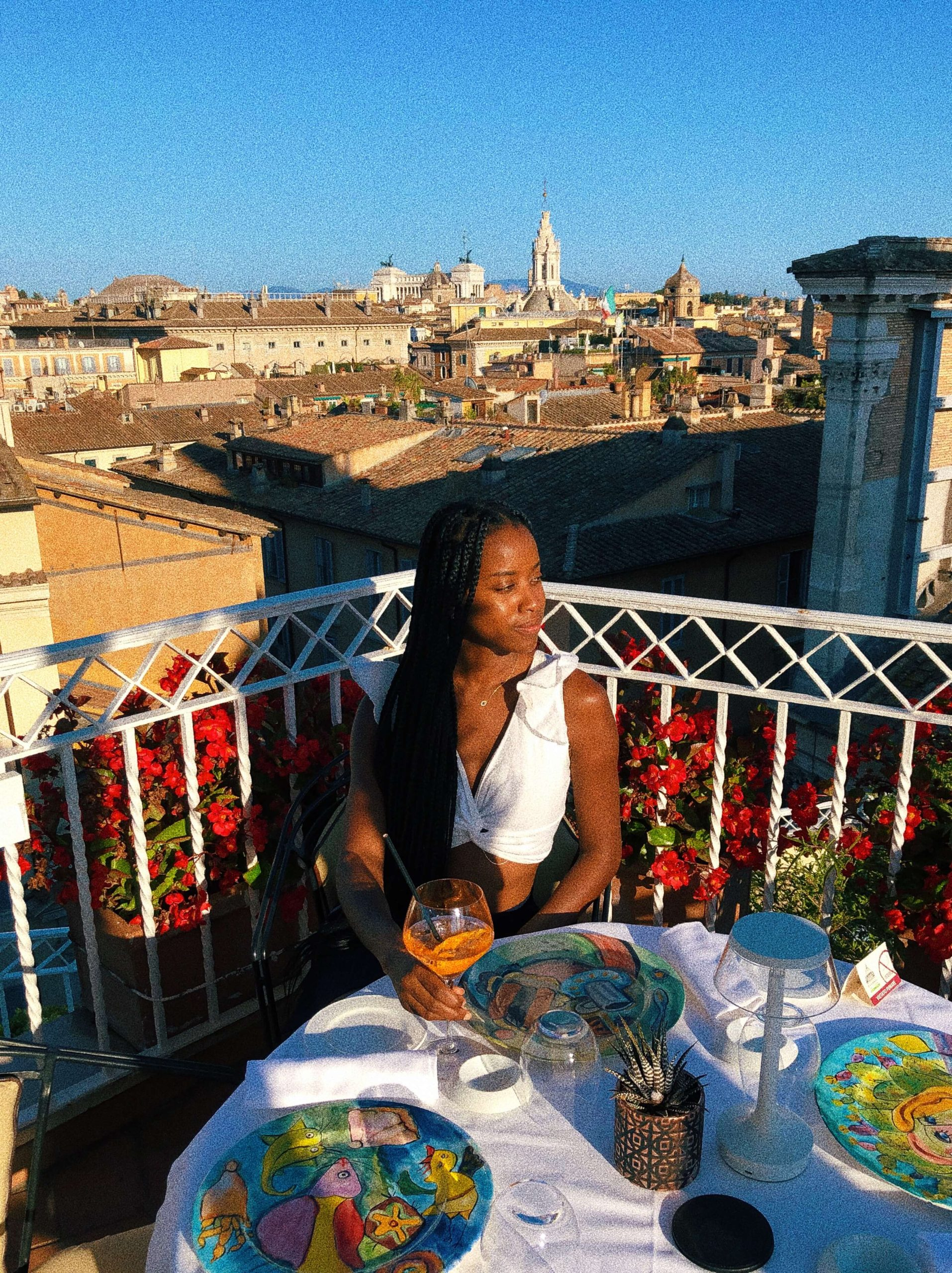 solo black woman traveler